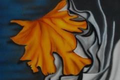 blad-herfst op doek 30x40 cm