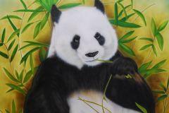 Panda-op-trespa-60x60-cm-afgelakt-voor-buiten